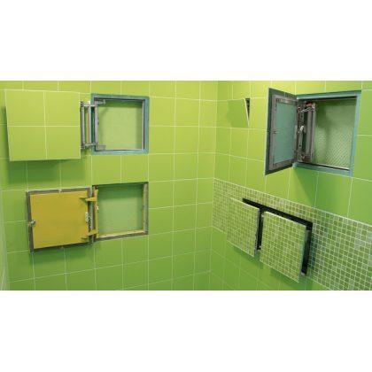 По каким критериям выбрать хороший ревизионный люк для ванной