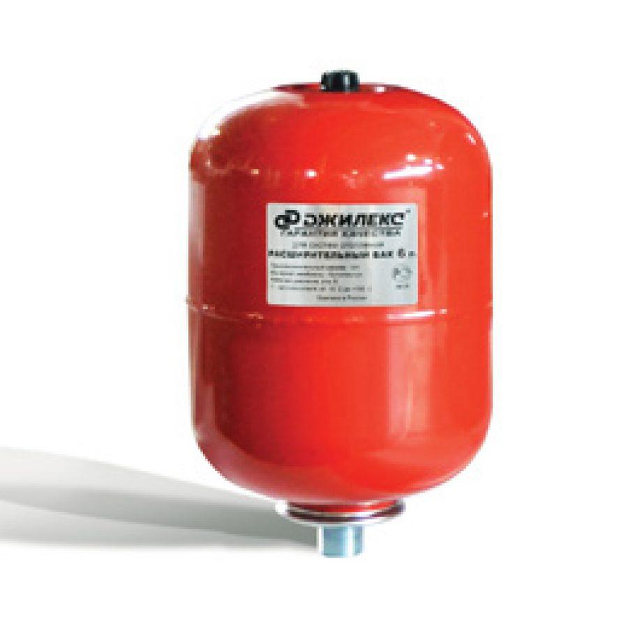 Расширительный бак  6 л.для систем отопления