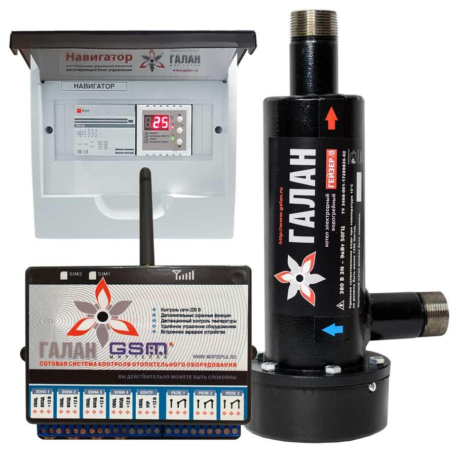 Гейзер 6 / Базовый / Галан GSM - Электрический электродный отопительный котел