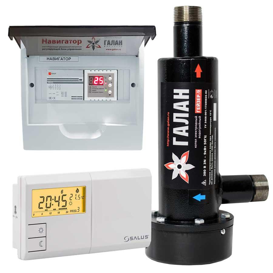 Гейзер 6 / Базовый / Salus - Электрический электродный отопительный котел