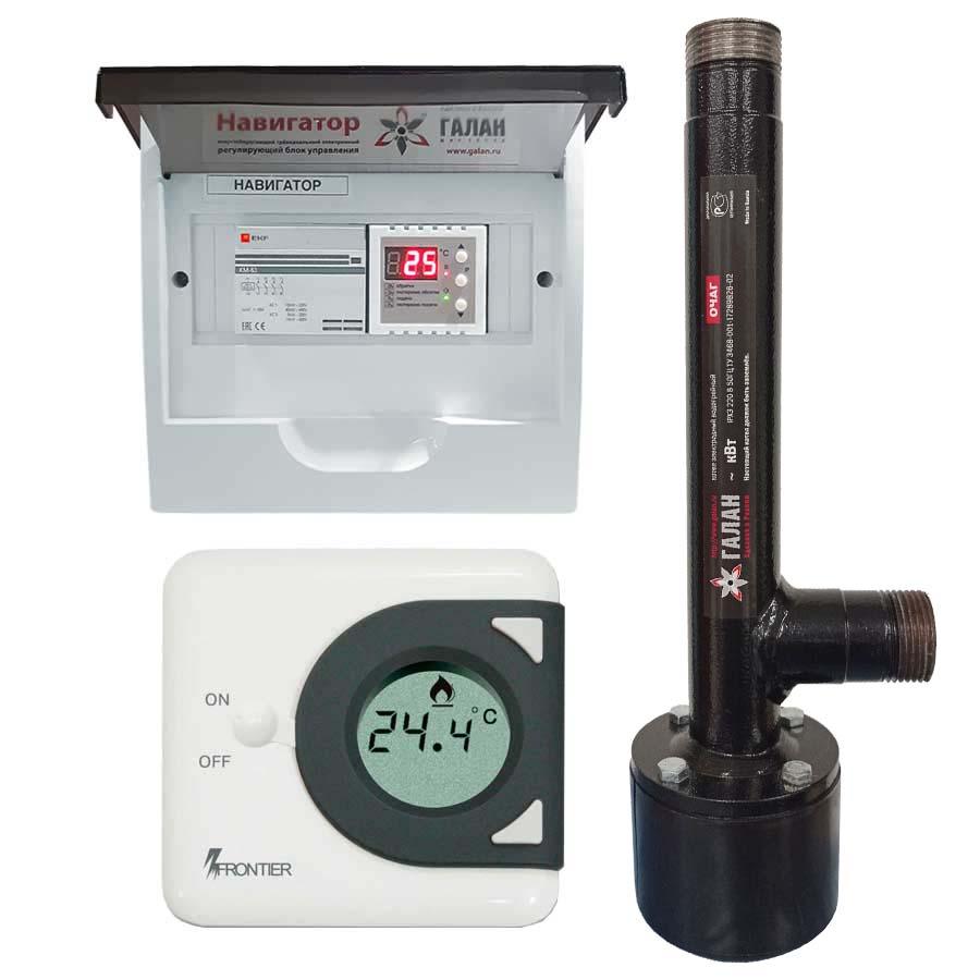 Очаг 2 / Базовый - Электрический электродный отопительный котел
