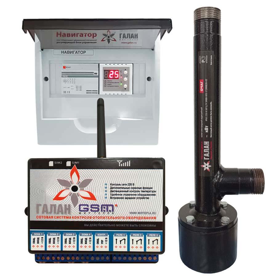 Очаг 2 / Базовый / Галан GSM - Электрический электродный отопительный котел