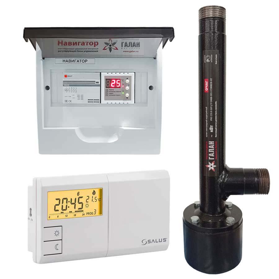 Очаг 6 / Базовый / Salus - Электрический электродный отопительный котел
