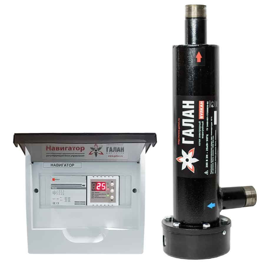 Вулкан 25 / Базовый - Электрический электродный отопительный котел